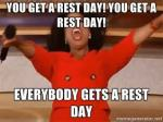 oprah rest day