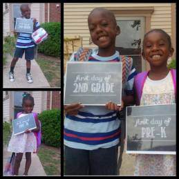 1st day of school pic