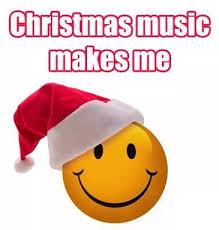 xmas music makes me