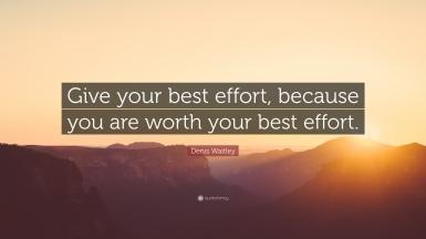 best effort